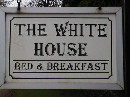 The White House Sign